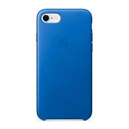 Чехол для iPhone 8/7 Apple Leather Case - Electric Blue