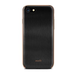 Чехол для iPhone 8/7 Moshi iGlaze Armour Black