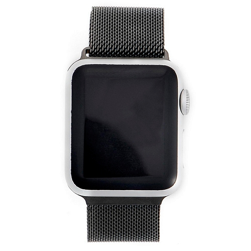 Браслет для Apple Watch 38mm COTEetCI Watchband Magnet Milan Loop Black