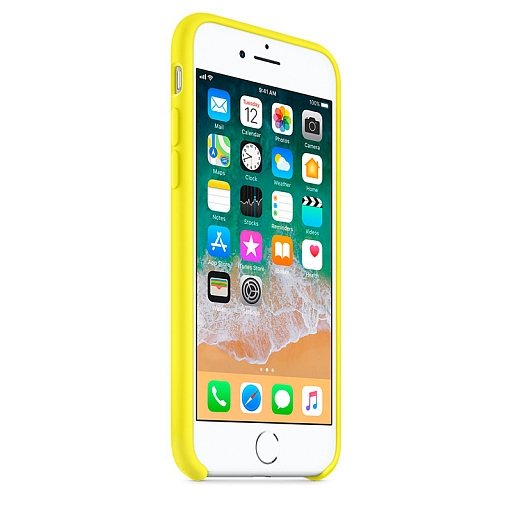 Чехол для iPhone 8/7 Apple Silicone Case - Flash