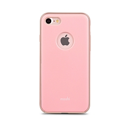Чехол для iPhone 8/7 Moshi iGlaze Blush Pink