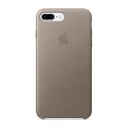 Чехол для iPhone 8 Plus/7 Plus Apple Leather Case - Taupe