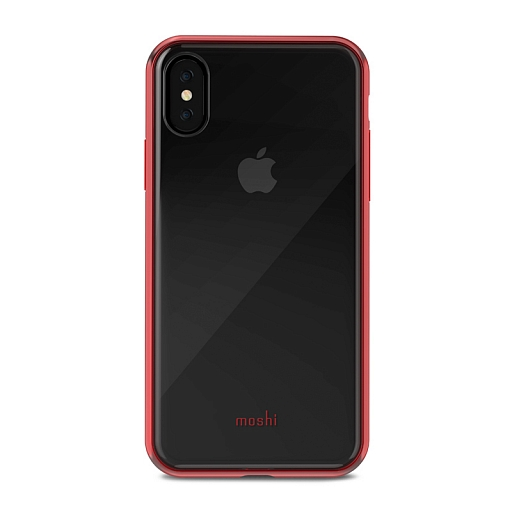 Чехол для iPhone X Moshi Vitros Crimson Red