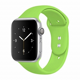 Ремешок для Apple Watch 38/40mm Dixico Silicone Sport Band Green