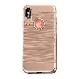 Чехол для iPhone X/XS Usams Lavan Series Gold