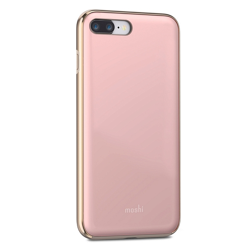 Чехол для iPhone 8 Plus/7 Plus Moshi iGlaze Taupe Pink