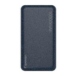 Внешняя батарея Usams Power Bank Mosaic Series 10000 mAh Blue