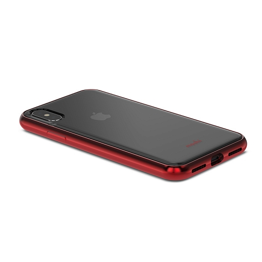 Чехол для iPhone X/XS Moshi Vitros Crimson Red