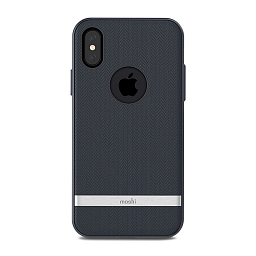 Чехол для iPhone X/XS Moshi Vesta Bahama Blue