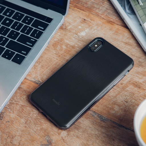 Чехол для iPhone XS Max Moshi iGlaze Black