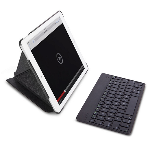 "Чехол с клавиатурой для iPad Pro 9.7"" Moshi VersaKeyboard Bluetooth ENG/RU Black"