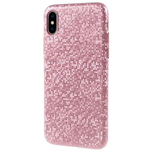 Чехол для iPhone X Dixico Protective Equipment Rose