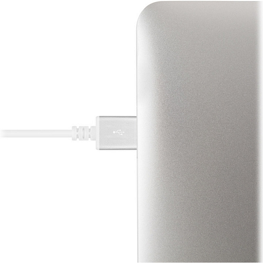 Кабель Moshi Lightning/USB with 90-degree connector White (1.5m)