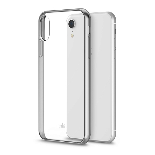 Чехол для iPhone XR Moshi Vitros Silver