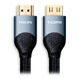 Кабель Philips HDMI-HDMI Ultra HD 4K 2.0m Black
