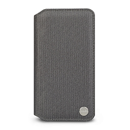 Чехол для iPhone XR Moshi Overture Herringbone Gray