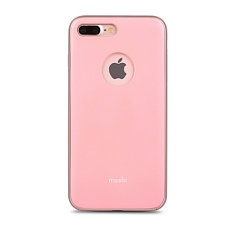Чехол для iPhone 8 Plus/7 Plus Moshi iGlaze Blush Pink