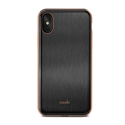 Чехол для iPhone X Moshi iGlaze Armour Black