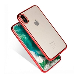 Чехол для iPhone X Fant Red