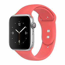 Ремешок для Apple Watch 38/40mm Dixico Silicone Sport Band Pink