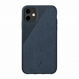 Чехол для iPhone 11 Native Union Clic Canvas Navy Blue