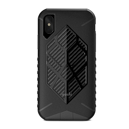Чехол для iPhone X Moshi Talos Stealth Black