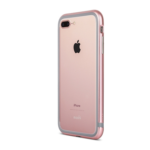 Чехол-бампер для iPhone 8 Plus/7 Plus Moshi Luxe Rose Pink