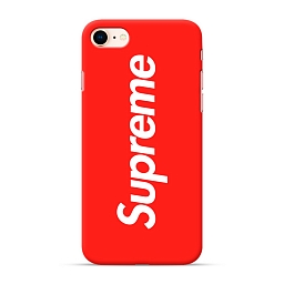 Чехол для iPhone 7/8 Supreme Silicone Case Red