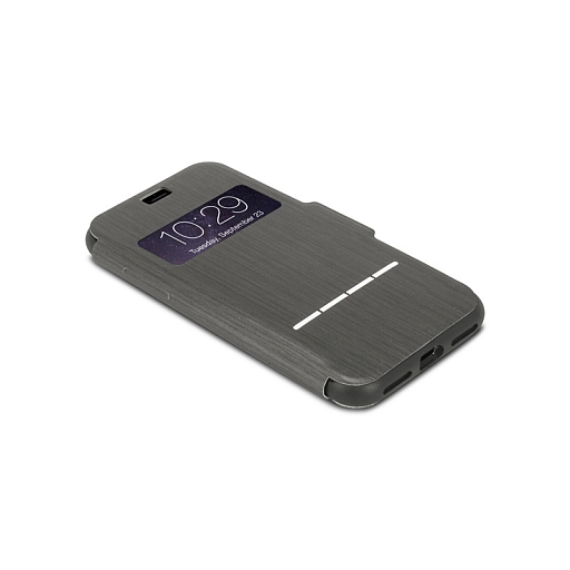Чехол для iPhone 8/7 Moshi SenseCover Charcoal Black