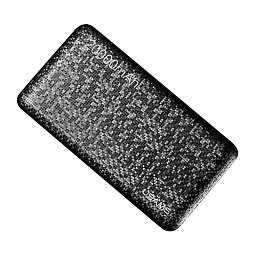 Внешняя батарея Usams Power Bank Mosaic Series 20000 mAh Black