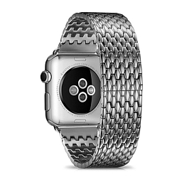 Браслет для Apple Watch 42 mm Dixico Steinless Steel 7 Pointers Silver