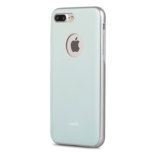 Чехол для iPhone 8 Plus/7 Plus Moshi iGlaze Powder Blue