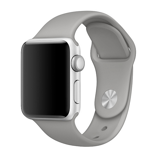 Ремешок для Apple Watch 42 mm Dixico Light Gray Sport Band