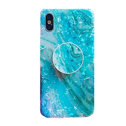 Чехол для iPhone 7/8 Marbled Bracket Dreamy Shell Old Blue
