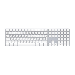 Беспроводная клавиатура Apple Magic Keyboard with Numeric Keypad - Silver