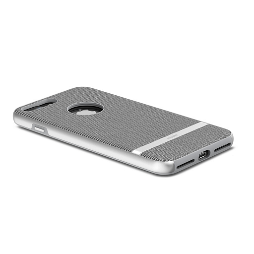 Чехол для iPhone 8 Plus/7 Plus Moshi Vesta Herringbone Gray