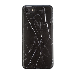 Чехол для iPhone 7/8 Marbled Bracket Black