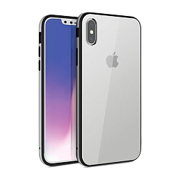 Чехол для iPhone XS Max Uniq Valencia Clear Silver
