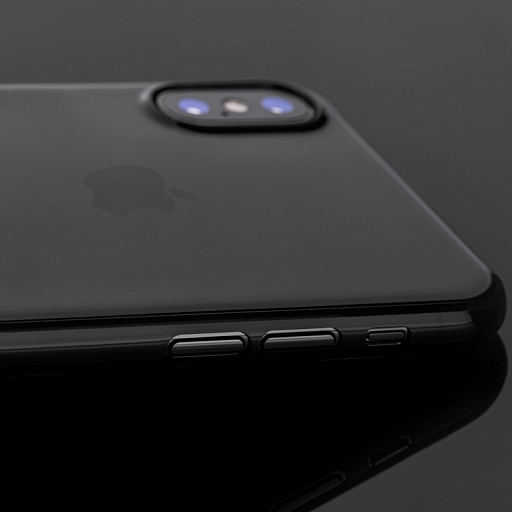 Чехол для iPhone X/XS Moshi SuperSkin Stealth Black