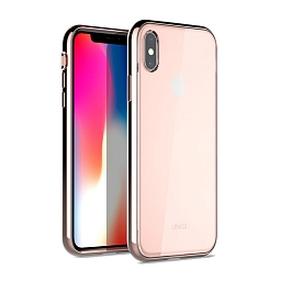 Чехол для iPhone XS Max Uniq Glacier Xtreme Blush Gold