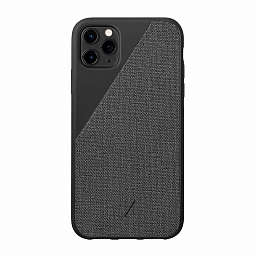Чехол для iPhone 11 Pro Max Native Union Clic Canvas Black