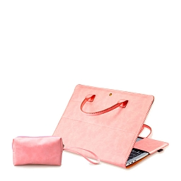 "Сумка-чехол для MacBook 13.3"" Dixico (Mouse Pad, Mouse Case) Pink"
