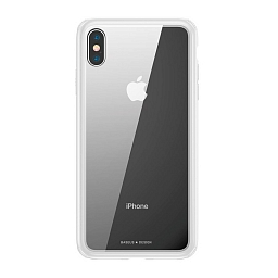 Чехол для iPhone X/XS Baseus See-Through Series Case White