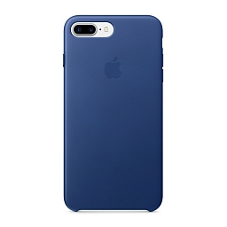 Чехол для iPhone 8 Plus/7 Plus Apple Leather Case - Sapphire