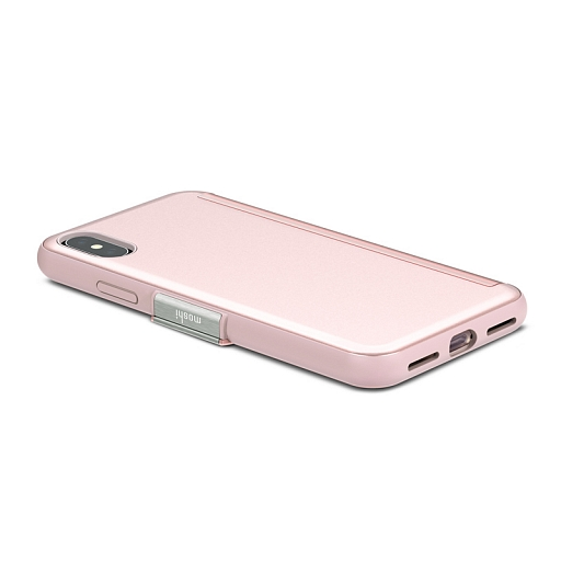 Чехол для iPhone X Moshi StealthCover Pink