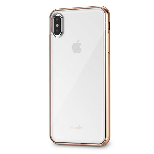 Чехол для iPhone XS Max Moshi Vitros Gold