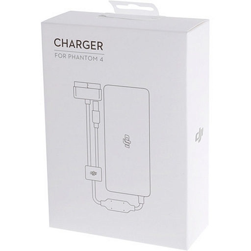 Зарядное устройство DJI Phantom 4 Series 100 W Battery Charger (Without AC Cable) White (Part 9)