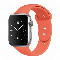 Ремешок для Apple Watch 38/40mm Dixico Silicone Sport Band Apricot