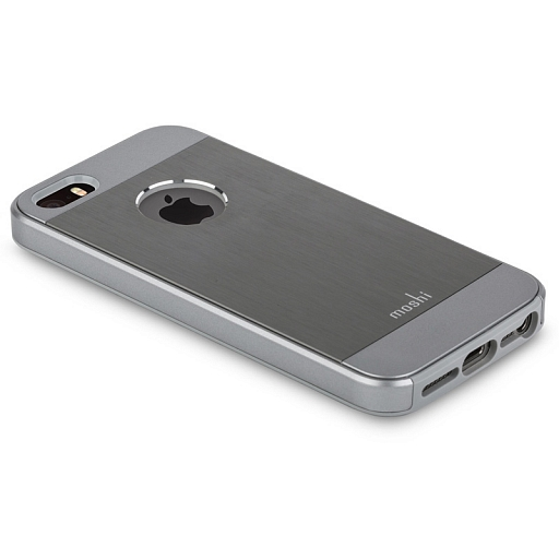 Чехол для iPhone 5/5S/SE Moshi Armour Gunmetal Gray