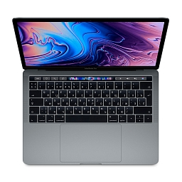 "MacBook Pro 13"" Touch Bar: 2.4GHz Intel QC i5 8th-gen. (TB 4.1GHz)/8GB/SSD 256GB/Intel Iris Plus Graphics 655/Space Gray"